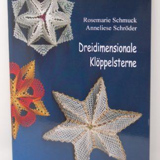 Schmuck: 3D Klöppelsterne