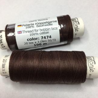 Barkonie Baumwolle poliert 30  20 tex x 3 Nm 50/3 7474