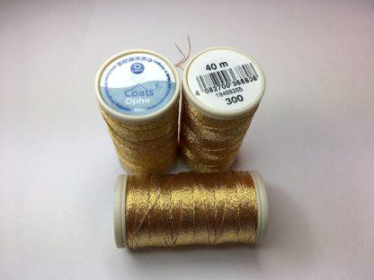Idrija CoatsOphir metallic 300 gold
