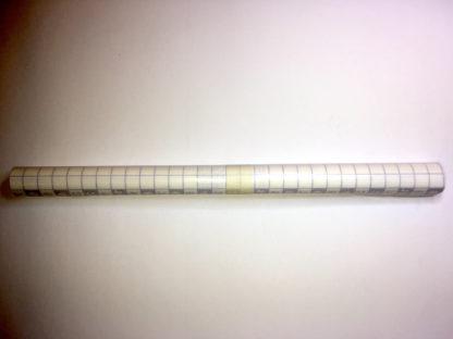 Klebefolie halbmatt 100 x 30 cm   farblos