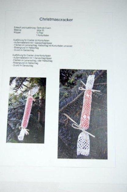 Klöppelbrief Christmascracker