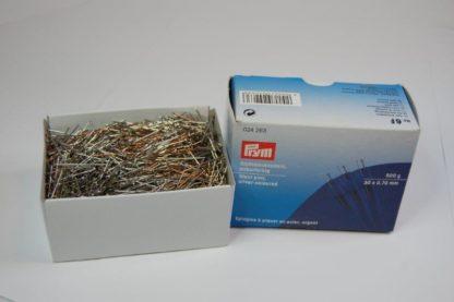 Stahlstecknadeln Prym 30 x 0,70 mm 500g  silber