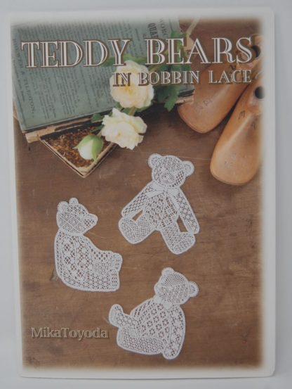 Teddy Bear in bobbin lace, Mika Toyoda